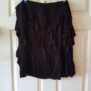 Lane Bryant Ruffle Skirt